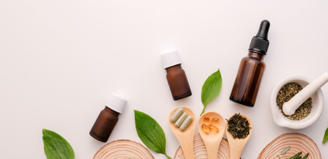 This image depicts CBD tinctures, CBD capsules, hemp leaves and CBD oil. Although known in the fashion industry, many do not know that hemp is more softer than cotton and is considered harder than cotton.