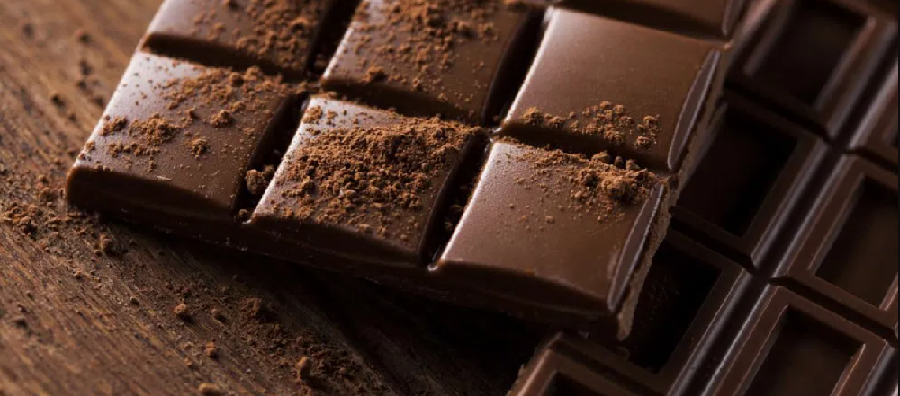 This image shows CBD chocolate. According to numerous sources, the CBD edibles market is expected to grow to just under $3 billion by 2023.