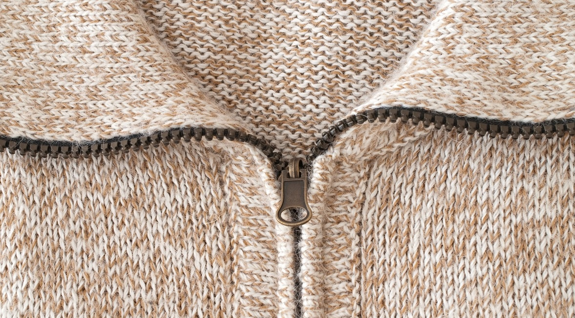 This image depicts hemp clothing being used, specifically a sweather.